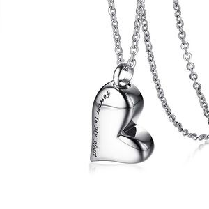 Jewelry - A New Stainless Steel Cremation Urn Necklace
